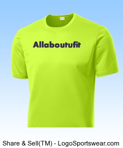 REFLECTIVE Men's Neon Green Allaboutufit Design Zoom